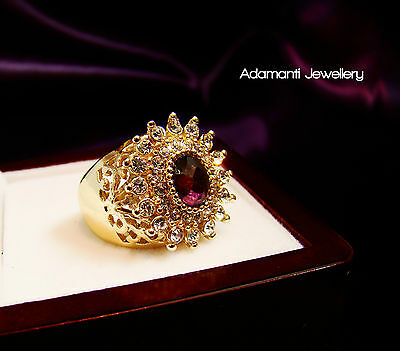 18K Yellow Gold Filled ring