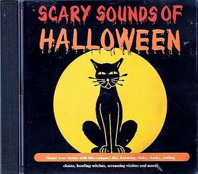 K-TEL's ORIGINAL CLASSIC SCARY SOUNDS OF HALLOWEEN: SPOOKY MUSIC & SOUNDS CD - Scary Halloween Rock Music