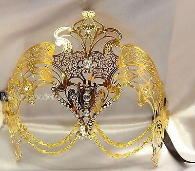 Masks For Halloween For Women (Halloween Masquerade mask for Glasses Wear Bachelor Graduation Costume)