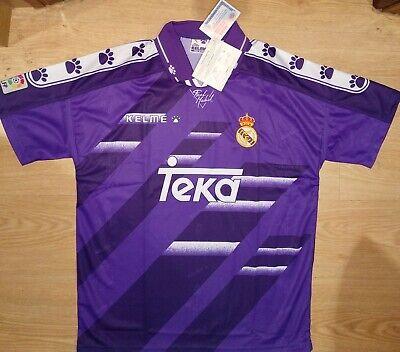 Camiseta Real Madrid Nueva Kelme 1995-1996 Shirt New BNWT Trikot Maillot Maglia