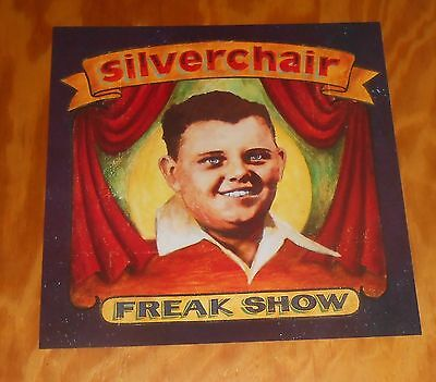 Silverchair Freak Show Poster 2-Sided Flat Square 1997 Promo 12x12