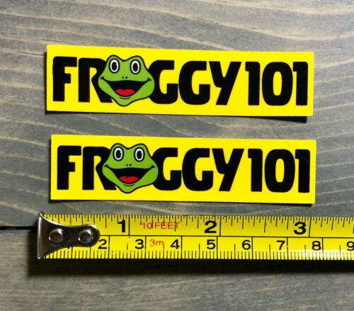 "2 Froggy 101 Sticker SMALL Decal 3"" The Office Dwight Schrute Michael Scott PO"