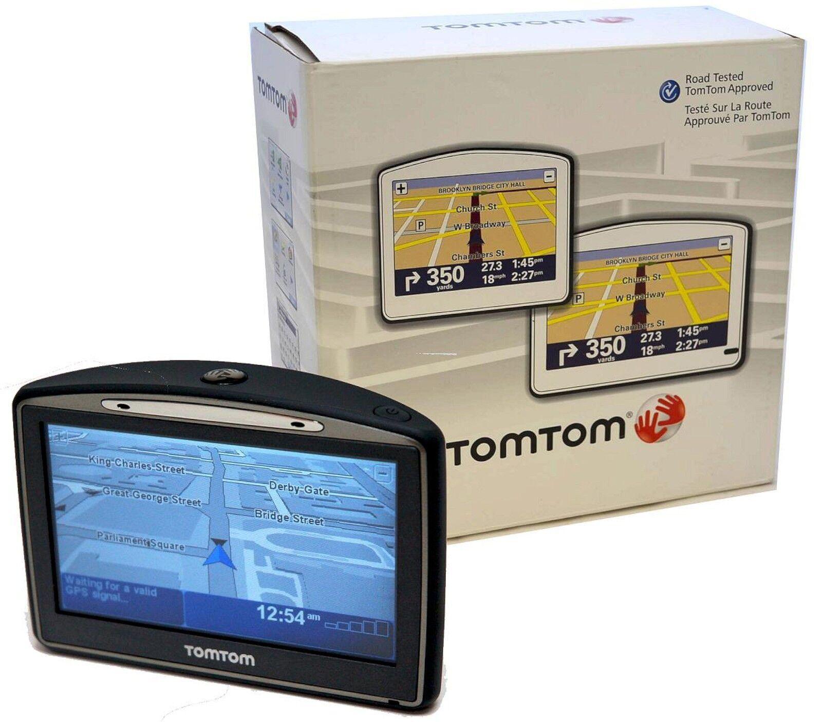 new tomtom go 720 portable gps navigator unit set in box. Black Bedroom Furniture Sets. Home Design Ideas