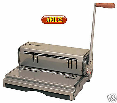 Akiles Coilmac-m Coil Binding Machine Punch 13-inch 41 Pitch New