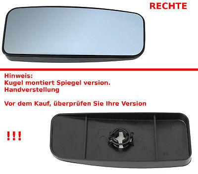 SPIEGELGLAS MANUELL KLEIN RECHTS FÜR MERCEDES SPRINTER 906 VW CRAFTER 30-50 2E