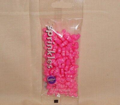 Flamingos,Pink Candy Sprinkles,Cupcake - Pink Sprinkles