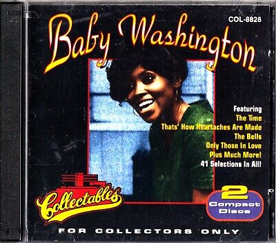 BABY WASHINGTON: For Collectors Only- 2 CD (Collectables Best Of)