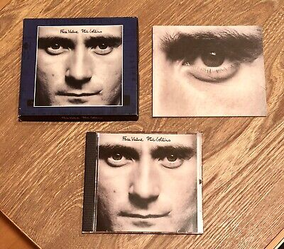 Used, Phil Collins Face Value Rare Atlantic 24 Kt Gold Audiophile CD Near Mint for sale  Shipping to India