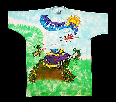 Grateful Dead Shirt T Shirt Vintage 1992 Spring Tour Tie Dye Dancing Bears XL