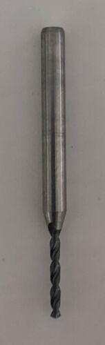 """.055"""" #54 Carbide Drill .450"""" Depth 1/8"""" Shaft Shank (Qty: 1) USA NOS"""
