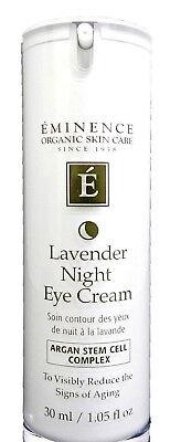 Eminence   Lavender Age Corrective Night Eye Cream  1.05 oz   NEW ~FREE SHIP