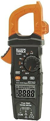 Klein Tools Cl800 True Rms Acdc Auto-ranging 600 Amp Digital Clamp Meter