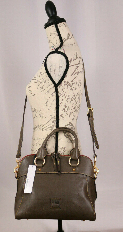 Dooney & Bourke Florentine Leather Crossbody Satchel Handbag
