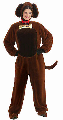Adult Dog Costumes (Puddles the Puppy Brown Dog Adult)