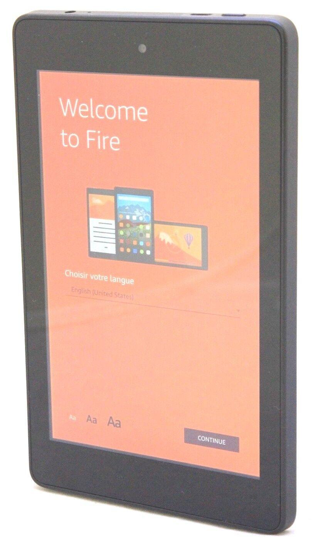"Kindle Fire HD6 4th Gen 8GB, Wi-Fi, 6"" - Black SCRATCH & DENT 24-8C"