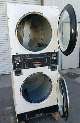Speed Queen Stack Dryer Coin Op 30lb 120v 60hz 1ph Sn Dtck9909028042 Refurb