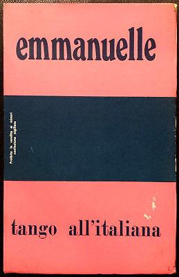 Emmanuelle: Tango all'Italiana, Ed. I.P.C., Prima Edizione, 1973