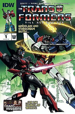 IDW Transformers Till All Are One #1 Exclusive TransMissions RE Variant Cover ](Are Transformers Superheroes)