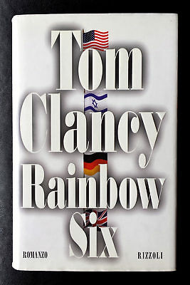 Tom Clancy, Rainbow Six, Ed. Rizzoli, 1999