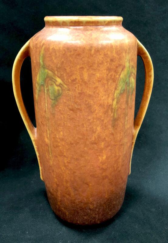 Antique Roseville Pottery Vase Windsor Pattern Circa 1931