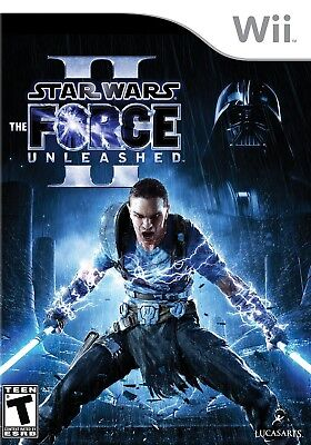 Star Wars: The Force Unleashed II - Nintendo  Wii (Star Force Game)