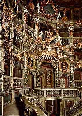 Markgräfliches Opernhaus Oper Fürstenloge Bayreuth Bayer farbig ~1970 ungelaufen
