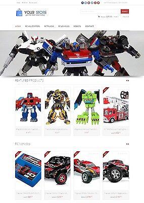 Toys Store - Next Generation Amazon Affiliate Website Ecommerce