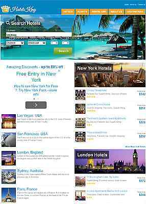 Fully Automated Hotel Flight Booking Website - Make Money Online