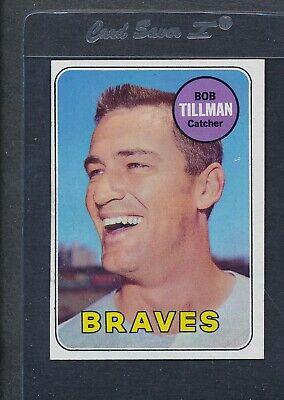 1969 Topps #374 Bob Tillman Braves EX *6318