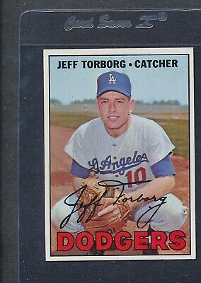 1967 Topps #398 Jeff Torborg Dodgers NM/MT *5187