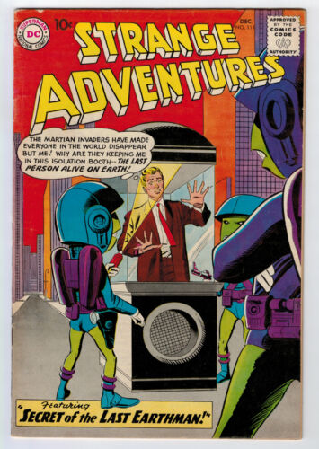 STRANGE ADVENTURES #111 5.0 1959 OFF-WHITE PAGES