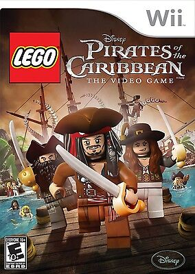 Lego Pirates Of The Caribbean  The Video Game   Nintendo  Wii Game
