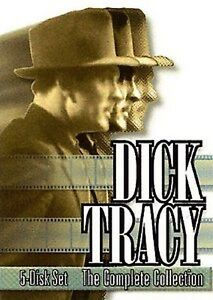 DICK TRACY THE COMPLETE COLLECTION (DVD SET) SEALED NEW