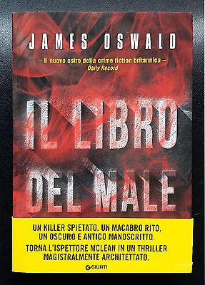 James Oswald, Il libro del male, Ed. Giunti, 2015