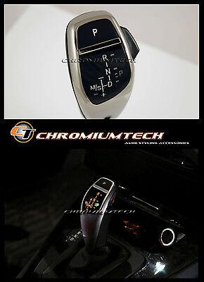 BMW E90 E92 3-Series CHROME LED Shift Gear Knob for RHD w/Gear Position Light