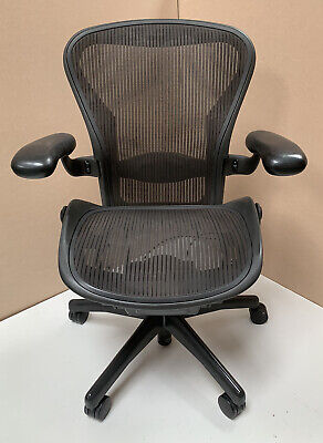 Herman Miller Aeron Chair Fully Loaded Spec With Lumbar Support