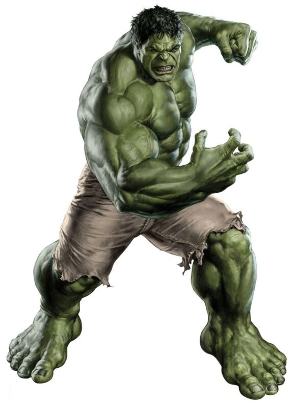 """Incredible Hulk Iron On Transfer 5""""x7"""" for LIGHT Colored Fabric"""