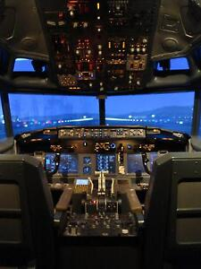Boeing 737 ng Flight Simulator,,,, Fixed for sale