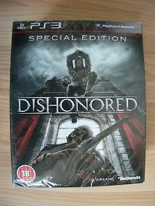 Dishonored Special Edition For PlayStation 3 Brand New & Sealed