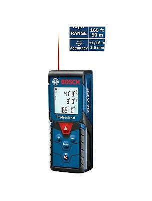 Bosch Blaze Pro 165' Laser Distance Measure GLM165-40 - SAME DAY PRIORITY SHIP