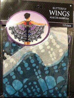 Monarch Wings Costume (Amscan Monarch Butterfly Wings Ladies Adult Fancy  Costume -)