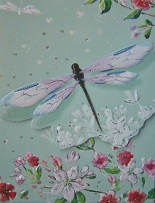 Carol Wilson Purse Pads Embossed Note Pad Dragonfly Floral Magnetic 90 (Floral Notepad)