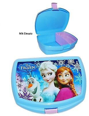Eiskönigin Frozen Brotdose / Lunchbox mit Einsatz