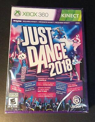 Just Dance 2018 (XBOX 360) NEW