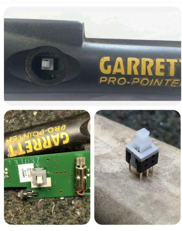 Garrett Pro Pointer on-off switch