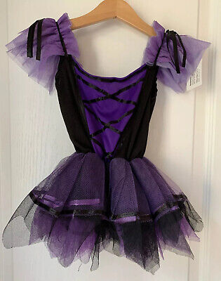 Kmart Toddler Costumes (NWT! Toddler Girls Witch Tutu Dress Halloween Costume & Witch Broom - Size)