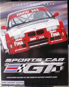 Electonic Arts:  Sports Car GT  Asia Pacific Edition CD ROM Boxed Greenwood Joondalup Area Preview