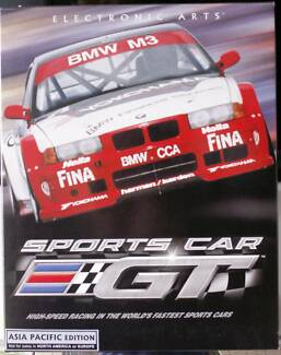 Electonic Arts:  Sports Car GT  Asia Pacific Edition CD ROM Boxed