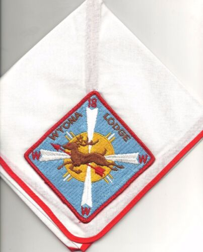 boy scout oa wyona lodge 18 neckerchief new in bag