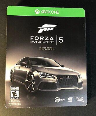 Forza Motorsport 5 Limited Edition [ STEELBOOK W/ Sleeve Cover ] (XBOX ONE) (Xbox One Forza Motorsport 5 Limited Edition)